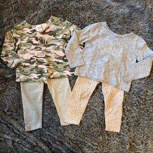 Camo Love Outfit Bundle 🖤 18-24m